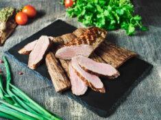 Mușchileț de porc la grătar