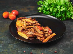 Porc in stil peruan